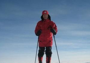 Премьер Норвегии отметил годовщину подвига Амундсена катанием на лыжах на Южном полюсе
