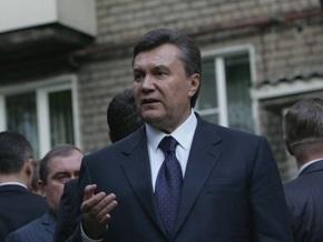Янукович: Языковой вопрос не разделяет Украину