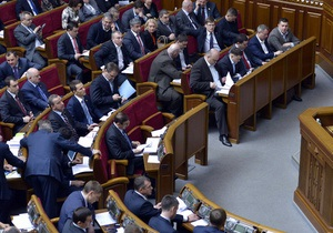 Рада уволила председателя Верховного Суда