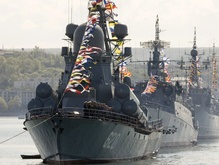 Корабли Черноморского флота РФ стали на рейд возле Сухуми