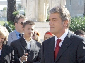 Ющенко прилетел в Литву