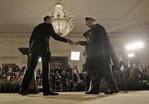 Обама и Карзай договорились ускорить вывод войск США из Афганистана