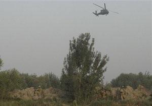 В Афганистане при посадке на военной базе упал вертолет Международной коалиции