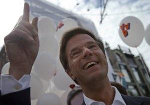 На парламентских выборах в Нидерландах лидирует правящая партия