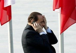 Берлускони: В Италии прослушиваются 7,5 млн человек