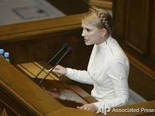 Тимошенко: В срыве газовых договоренностей Украины и России виноваты чиновники