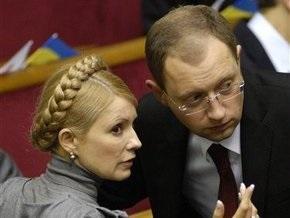 Яценюк: После меня свергнут Тимошенко