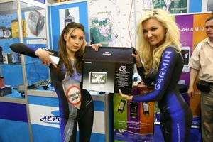 Garmin и карты Aeroscan на SIA 2010