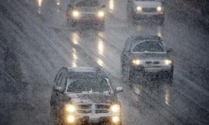 ГАИ - транспорт - дороги - снег - непогода - ГАИ отчиталась о сегодняшнем состоянии дорог