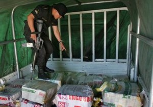 Полиция Колумбии нашла кокаин в глиняных статуях