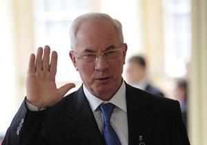 Азаров обратился к партиям, прошедшим в парламент