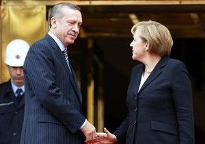 Меркель: Турция не готова стать членом Евросоюза