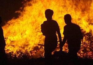В Киевской области в результате пожара погибли два человека
