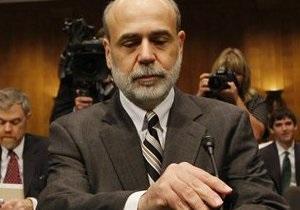 Бернанке: Восстановление экономики США будет умеренным с существенными ограничениями