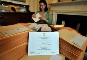 Свадьба принца Уильяма соберет рекордную для прямой трансляции аудиторию