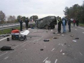 ДТП в Ровенской области: два человека погибли, трое госпитализированы
