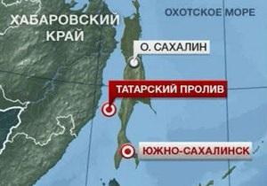 На западном побережье Сахалина затонуло рыболовецкое судно
