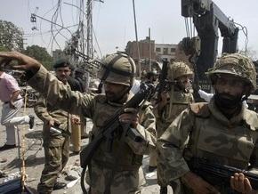 В Пакистане арестовали подозреваемых в теракте
