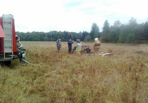В Подмосковье два человека разбились в результате аварии легкомоторного самолета