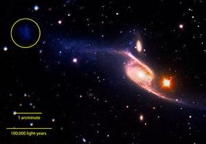 Найдена самая большая спиральная галактика, в пять раз превышающая размеры Млечного пути