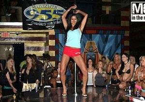 Мисс США оказалась победительницей стриптиз-конкурса