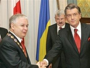 Ющенко сегодня посетит Польшу