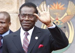 В Экваториальной Гвинее предотвратили военный переворот