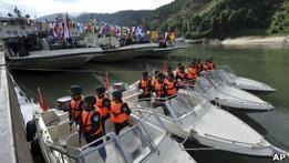 Китайская полиция будет патрулировать реку Меконг