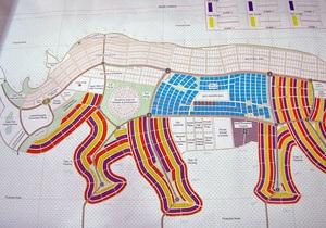 В Южном Судане хотят перестроить города: столице придадут очертания носорога