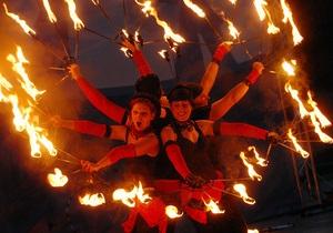 В Киеве пройдет Международный чемпионат фейерверков Танец огня