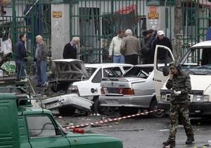 В результате теракта во Владикавказе погибла гражданка Украины