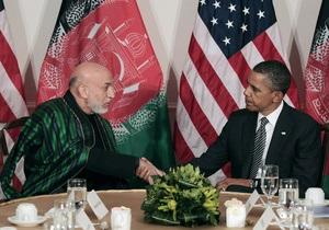 США и Афганистан подписали пакт о партнерстве