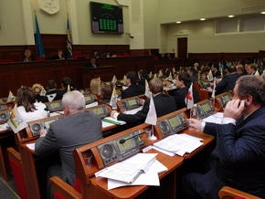 Завтра Киевсовет рассмотрит ряд резонансных вопросов