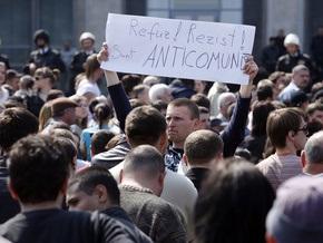 Молдавские демонстранты требуют предоставить им доступ в прямой эфир