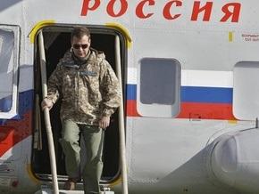 Медведев наблюдал за учениями КСОР в новой камуфляжной форме от Юдашкина