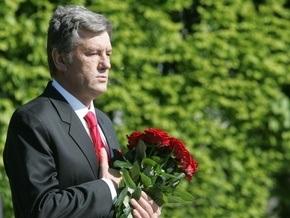 Ющенко поздравил ветеранов с годовщиной освобождения Киева от фашистов