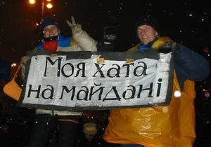 #отобулапомаранчева: Украинцы вспоминают события Оранжевой революции в Twitter