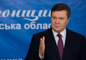 Янукович предлагает создать перечень резонансных коррупционных дел