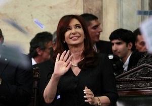 Президент Аргентины выписана из больницы