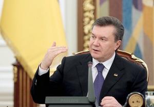 Янукович: В Крыму в этом году должна быть завершена оценка земель