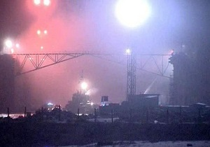 В результате пожара на российской атомной субмарине госпитализированы девять человек