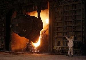 Украина нарастила объем производства металлопродукции на 6-9%