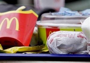 МВД: Ртуть в чизбургер из львовского McDonald s залила подруга потерпевшей