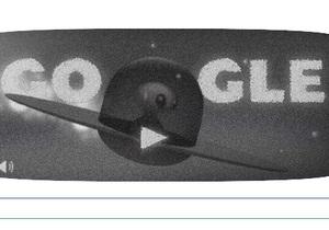 Google отмечает 66 лет Розуєлльскому инциденту дудлом с пришельцем