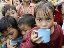 Эксперты: В Мьянме тысячи детей умрут от голода