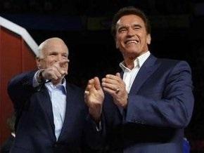 Шварценеггер призвал американцев голосовать за Маккейна