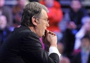 Ющенко верит, что будущее его партии - прекрасно