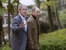 Путин принял Буша в собственной резиденции