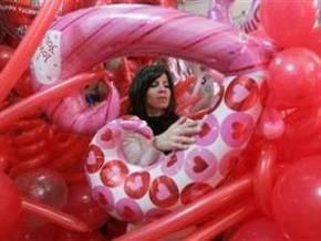 Влюбленные отмечают День святого Валентина