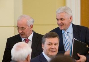 Азаров принес Литвину извинения за свои высказывания в его адрес